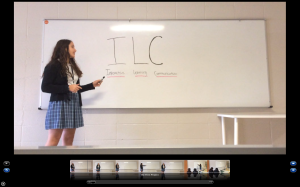This is a scene from our video featuring the introduction of ILC.