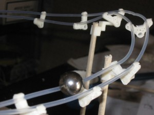 3D printed marble run